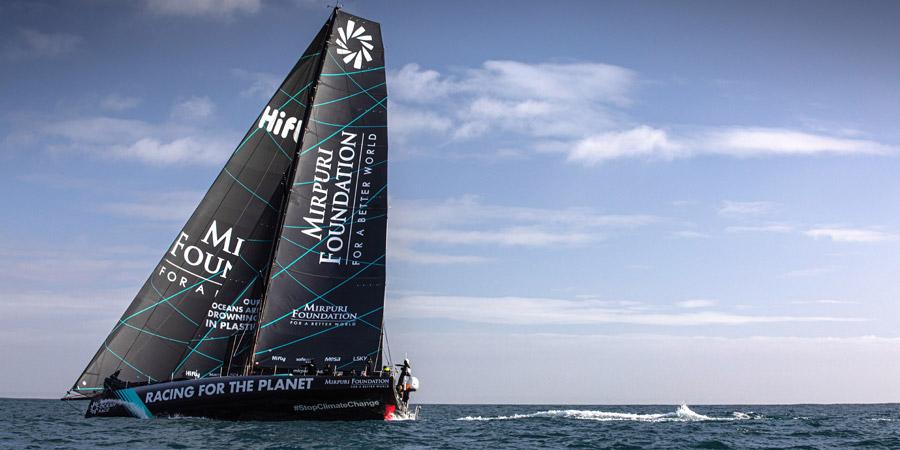 The Ocean Race: único barco português participante promove campanha #StopClimateChange