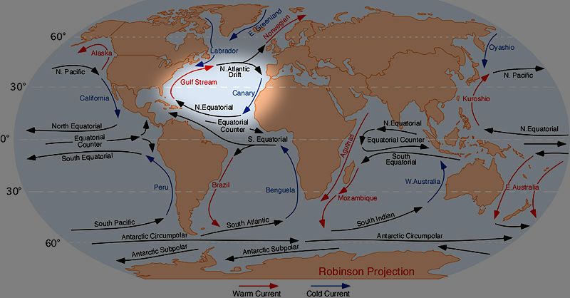 Corrente do Golfo atinge nível mais fraco dos últimos 1.000 anos. Consequências extremas no clima na Europa, alertam cientistas